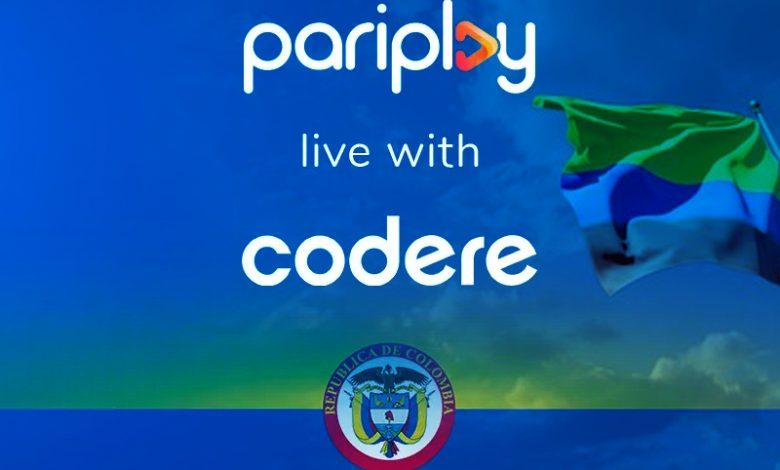 pariplay expands-with-codere-after-last-agreement-in-Colombia