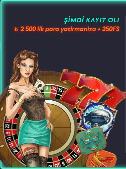 casinoya kayıt ol